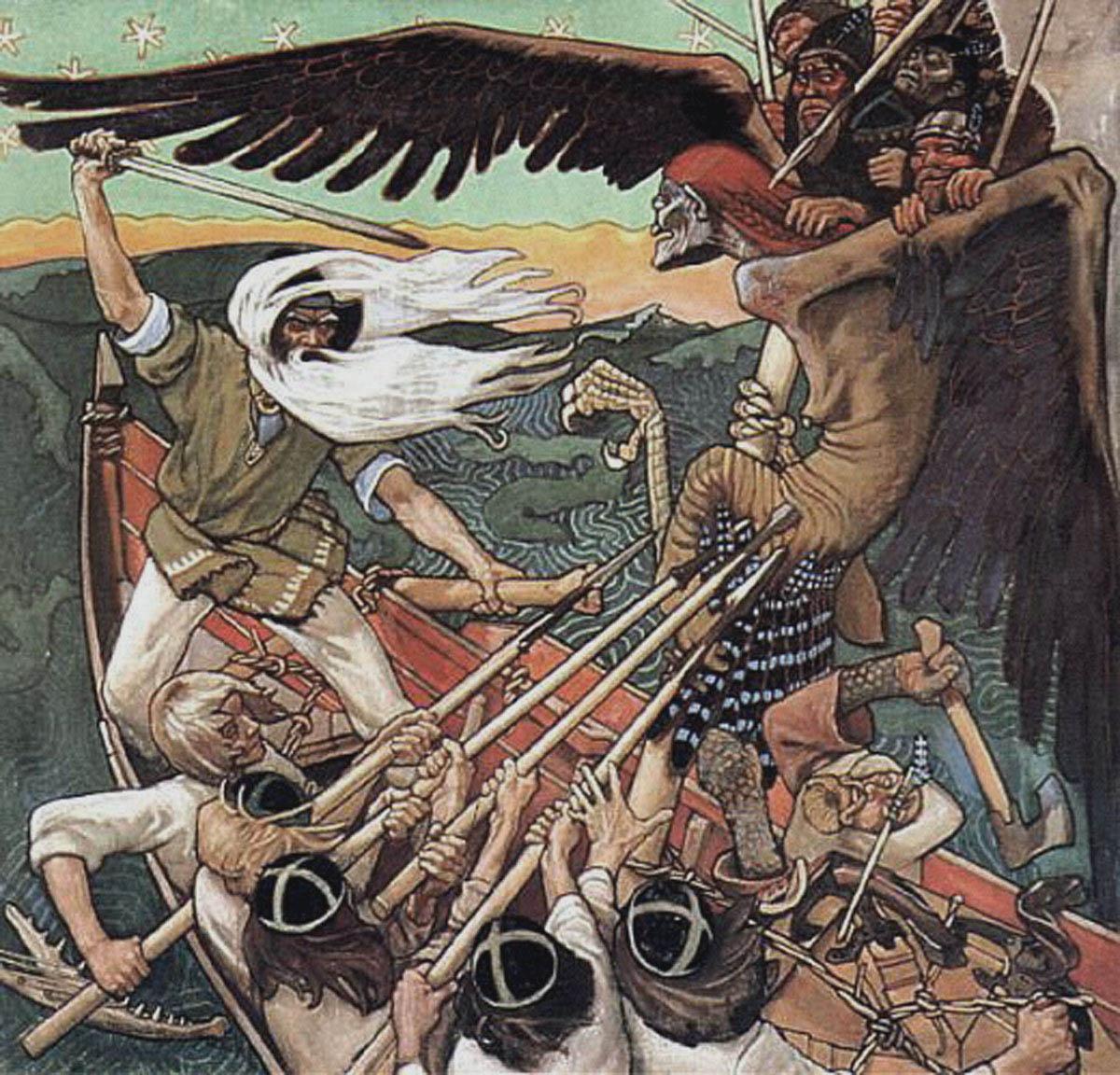 image from Chronique sur le conte # 1 - le Kalevala